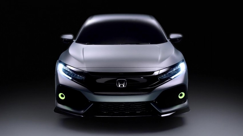 Honda Civic Hatchback Prototype goes live in Geneva; early 2017 launch for Europe, US market to follow Image #451738