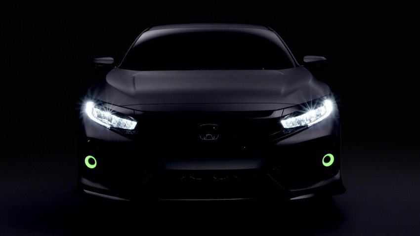 Honda Civic Hatchback Prototype goes live in Geneva; early 2017 launch for Europe, US market to follow Image #451739