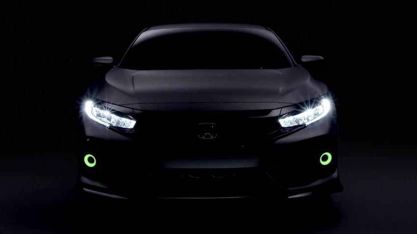 Honda Civic Hatchback membuat penampilan sulung di Geneva Motor Show – bakal dilancar pada 2017 Image #452104