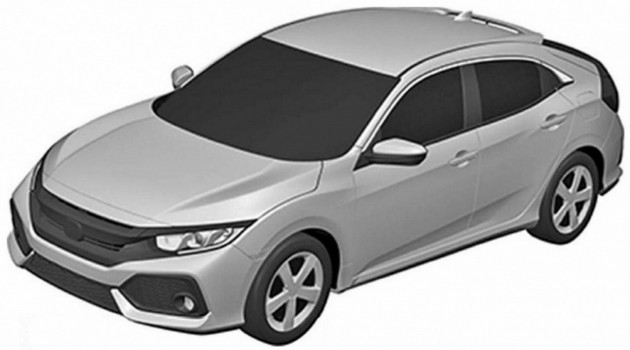 Honda Civic Hatchback patent 1