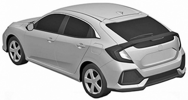 Honda Civic Hatchback patent 2