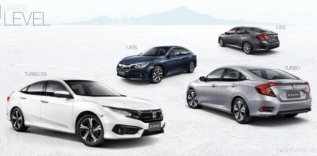 Honda-Civic-Thai-Grades