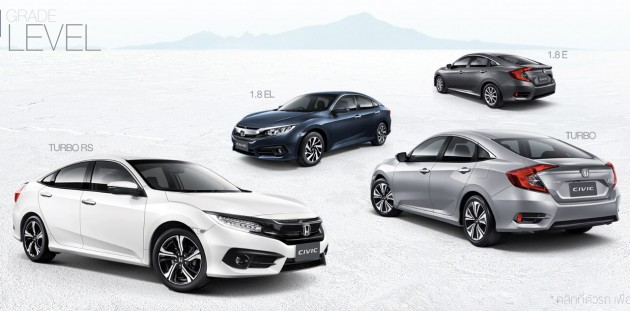 Honda-Civic-Thai-Grades