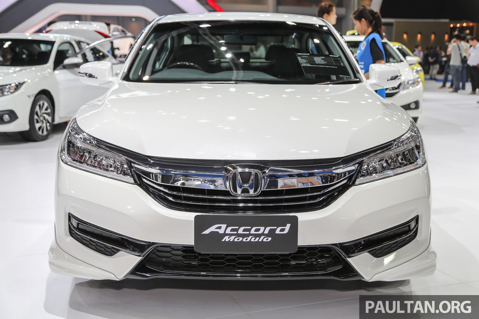GALLERY: Honda Accord facelift at Bangkok 2016