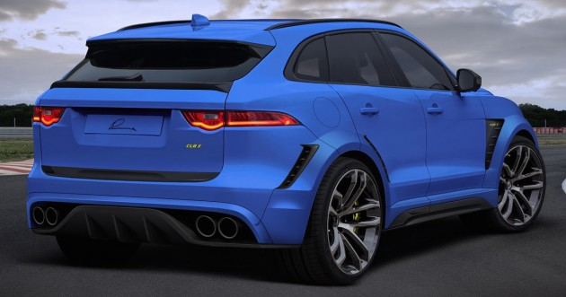 jaguar f pace clr f by lumma design sports 480 hp. Black Bedroom Furniture Sets. Home Design Ideas