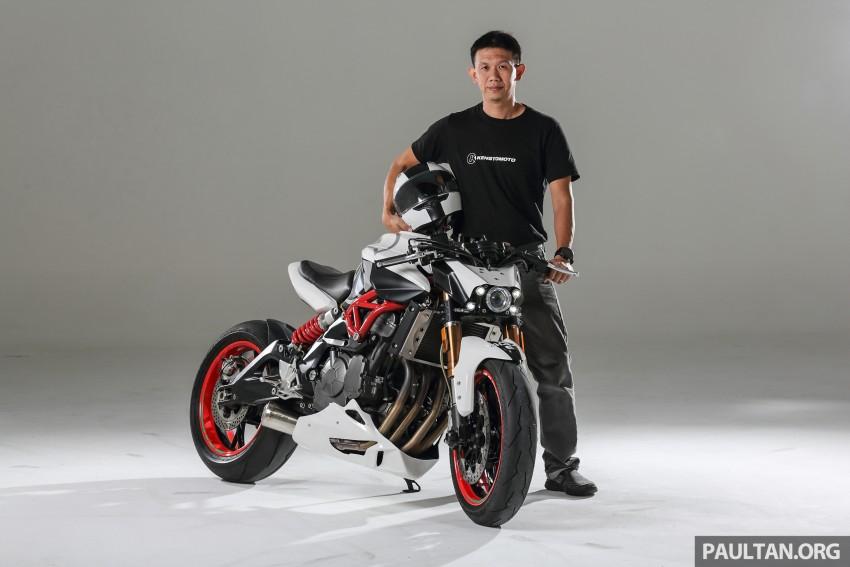 Kenstomoto Demolisher – a custom Benelli TnT600 by Malaysian vehicle designer Kenny Yeoh Image #460557