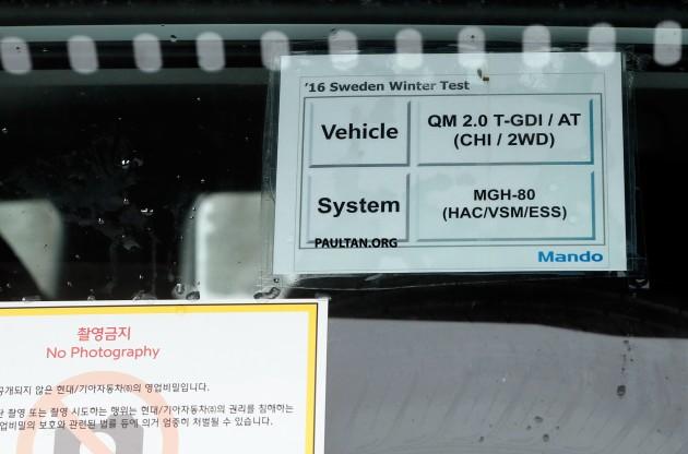 Kia Sorento QM Facelift Spy-12