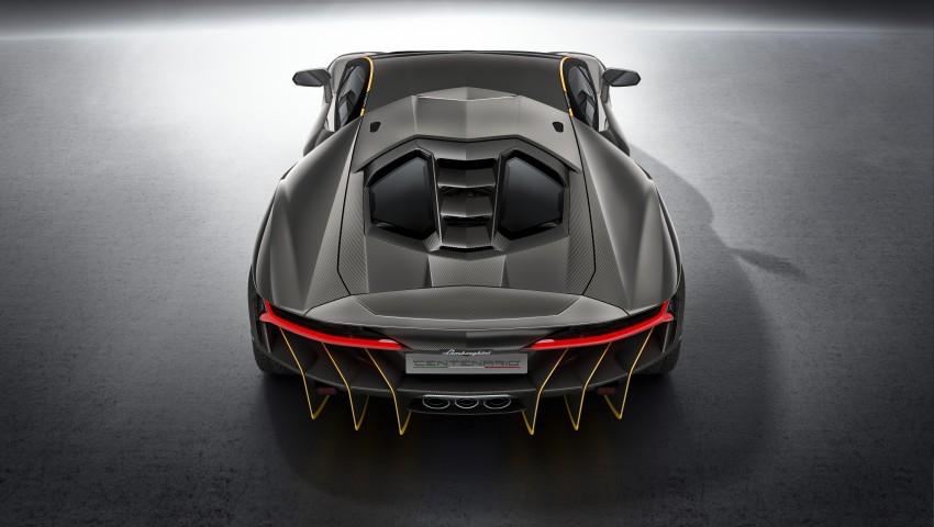 Lamborghini Centenario debuts – 770 hp, RM8 million Image #452041