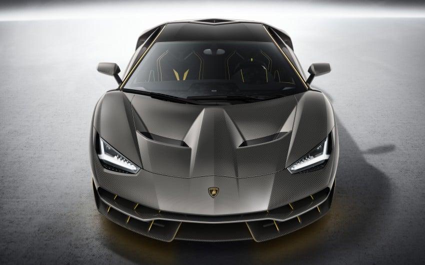 Lamborghini Centenario debuts – 770 hp, RM8 million Image #452044