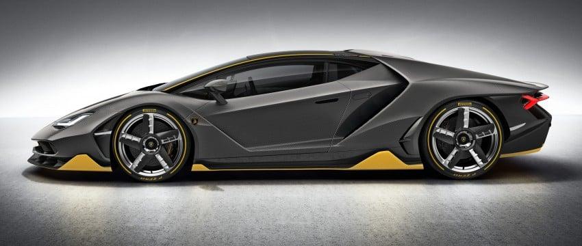 Lamborghini Centenario debuts – 770 hp, RM8 million Image #452047