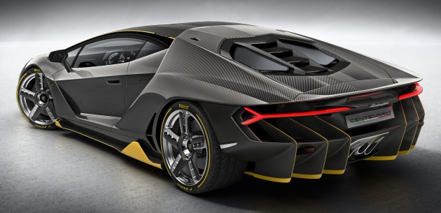 Lamborghini Centenario Debuts 770 Hp Rm8 Million