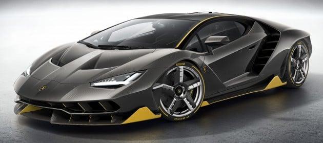 Lamborghini centenario price