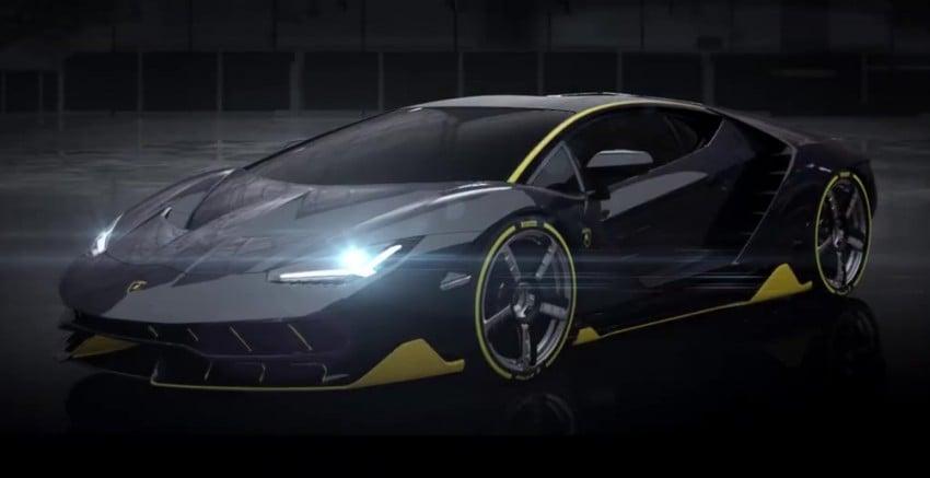 Lamborghini Centenario gets early video preview Image #451334