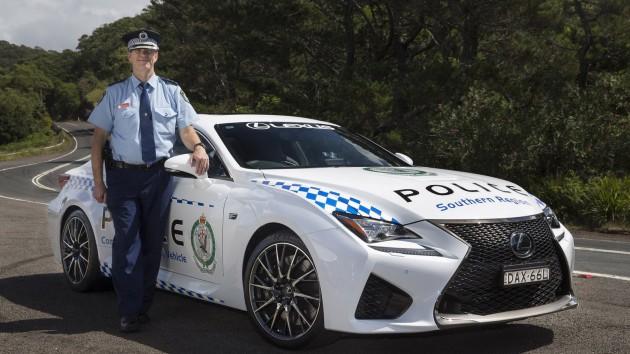 Lexus RC F Australia NSW Police 1