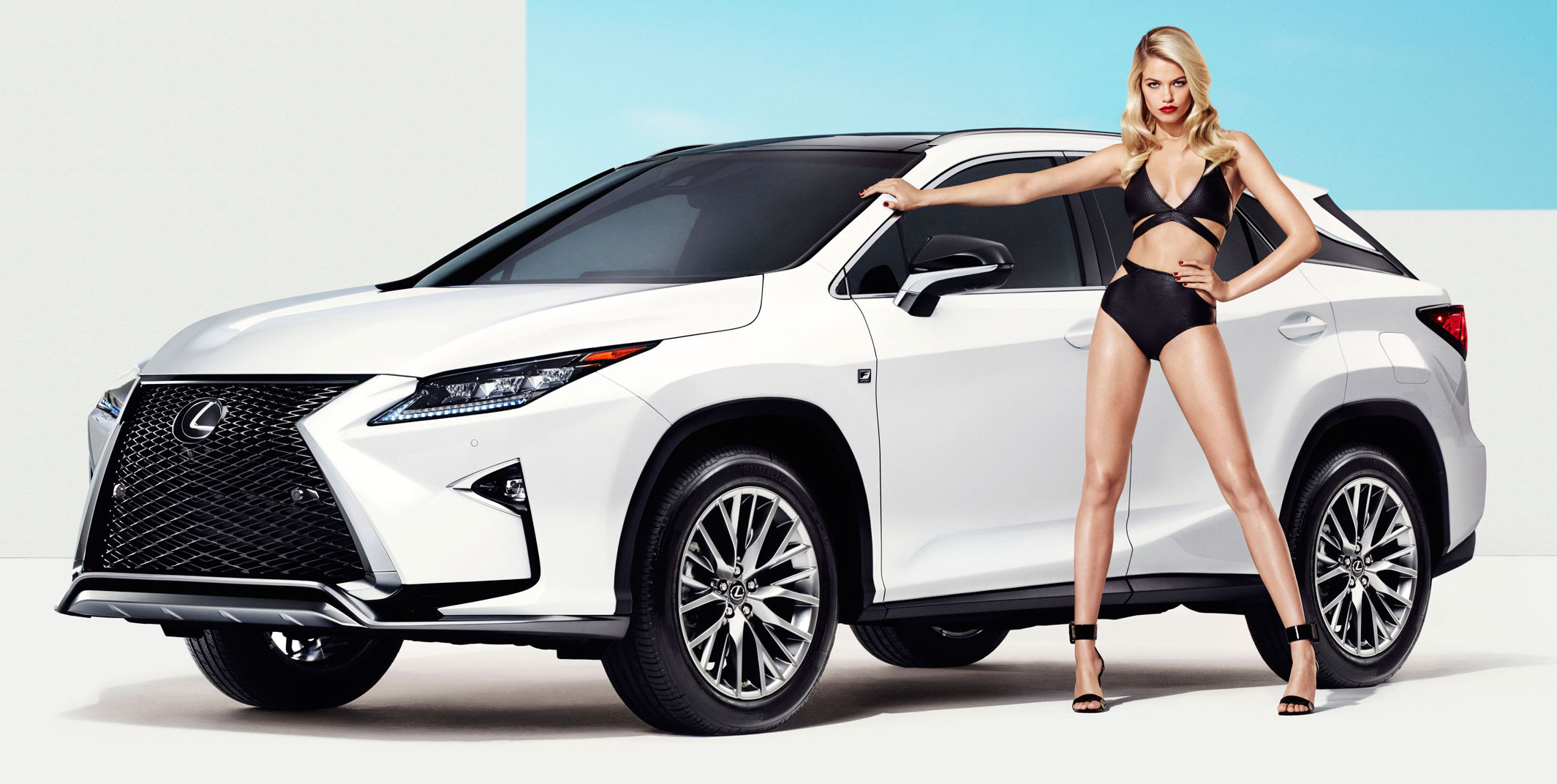 Video Lexus Rx F Sport And Si Model Hailey Clauson