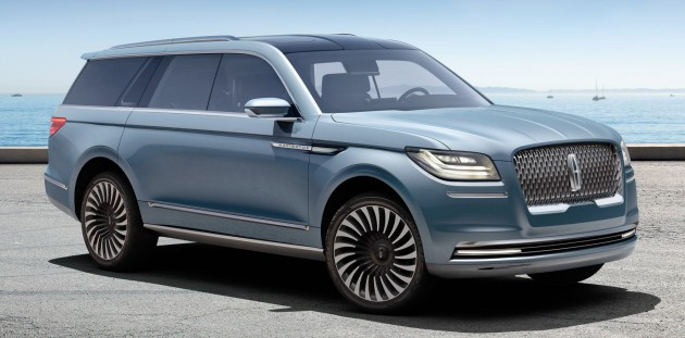 Lincoln Navigator Concept Breaks Cover In New York