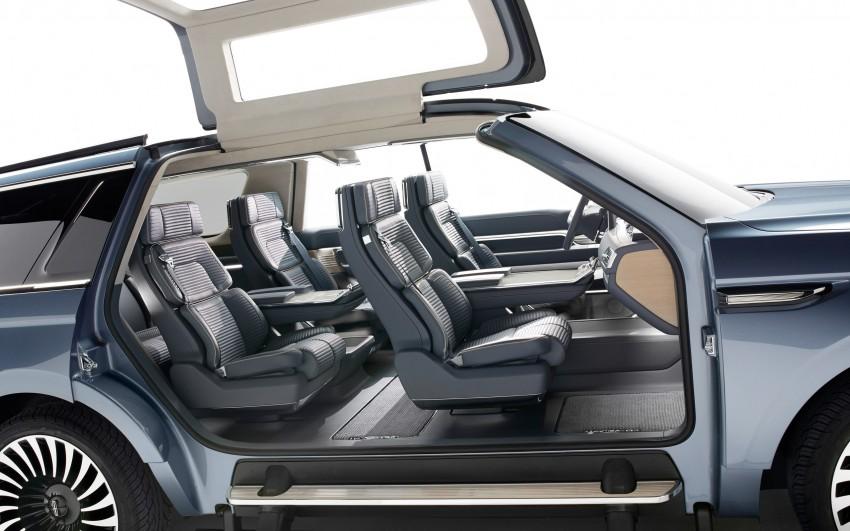 Lincoln Navigator Concept breaks cover in New York Image #465093