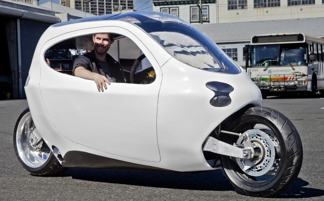 Lit Motors C 1 The Future Of Two Wheeled Transport