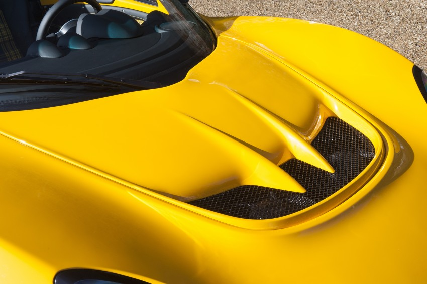 Penampilan sulung Lotus Exige Sport 350 Roadster di Geneva 2016 – lebih ringan 40 kg berbanding Coupe Image #453080