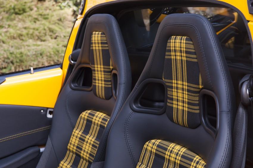 Penampilan sulung Lotus Exige Sport 350 Roadster di Geneva 2016 – lebih ringan 40 kg berbanding Coupe Image #453073
