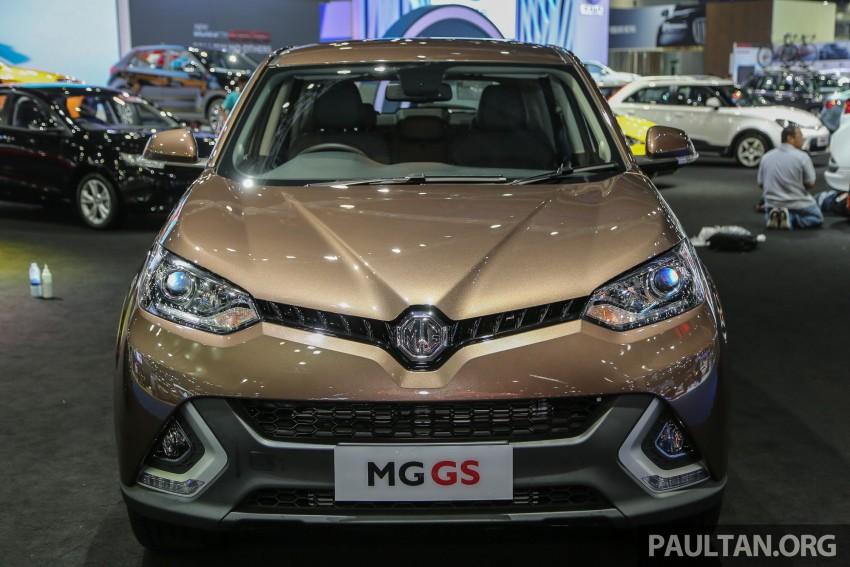 GALLERY: MG GS SUV makes debut at Bangkok 2016 Image #466432