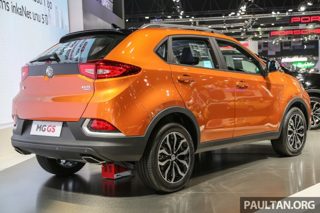 Gallery Mg Gs Suv Makes Debut At Bangkok 2016