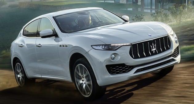 Maserati Levante details 5