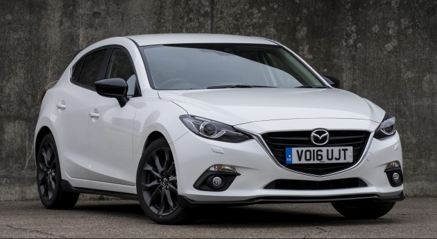 Mazda 3 Sport Black Edition UK 2
