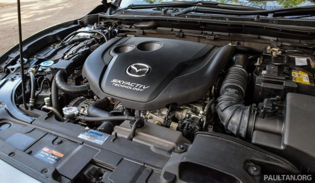 Mazda 6 SkyActiv-D 2.2 review 22