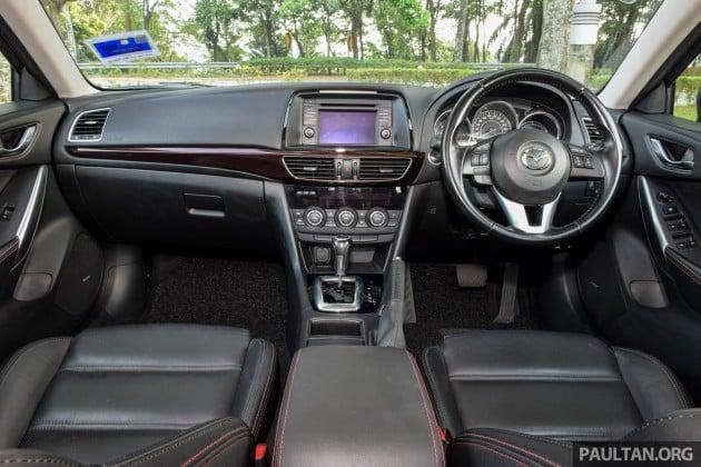 Mazda 6 SkyActiv-D 2.2 review 25
