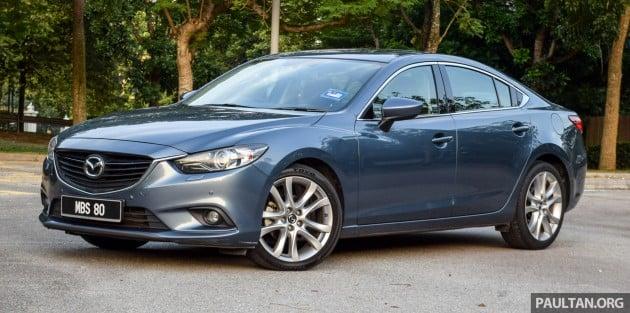 Mazda 6 SkyActiv-D 2.2 review 3