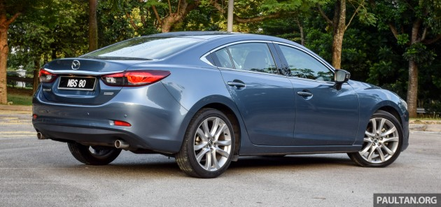 Mazda 6 SkyActiv-D 2.2 review 5