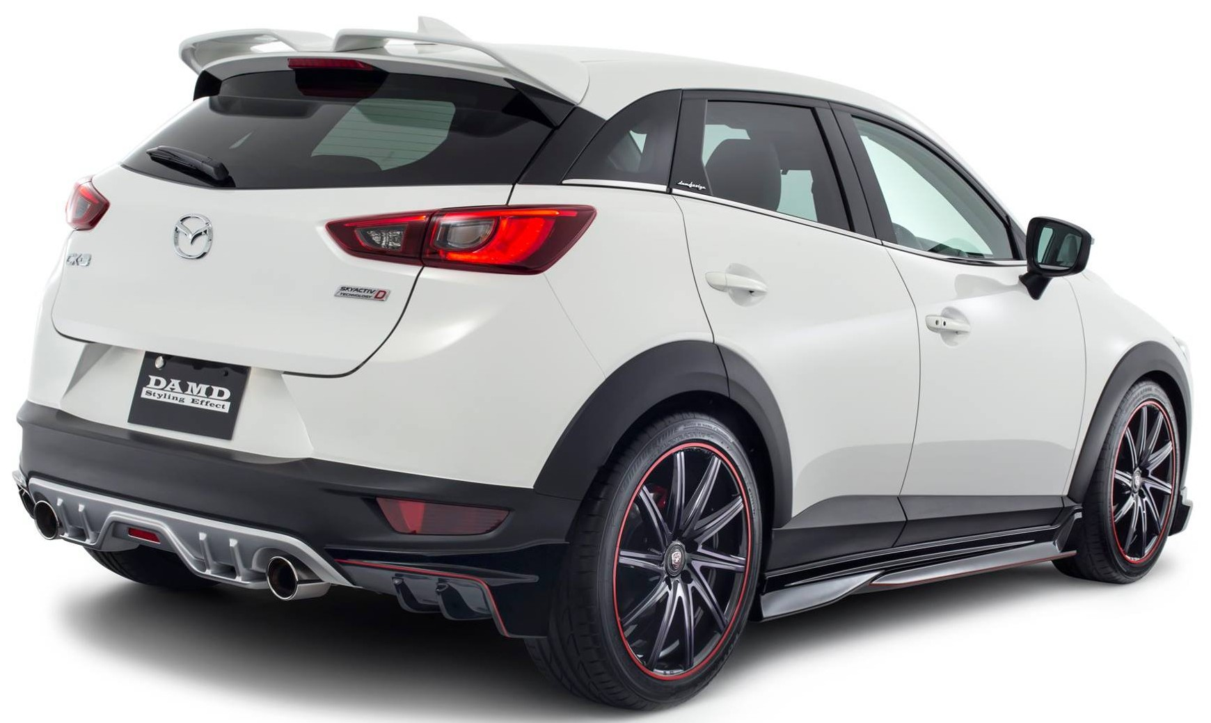 mazda 2 and cx 3 fitted with damd body kits in japan image. Black Bedroom Furniture Sets. Home Design Ideas