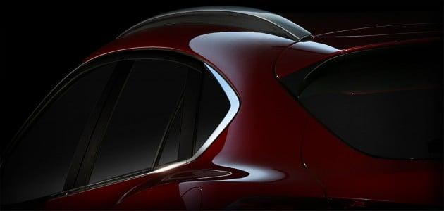 Mazda CX-4 Beijing teaser