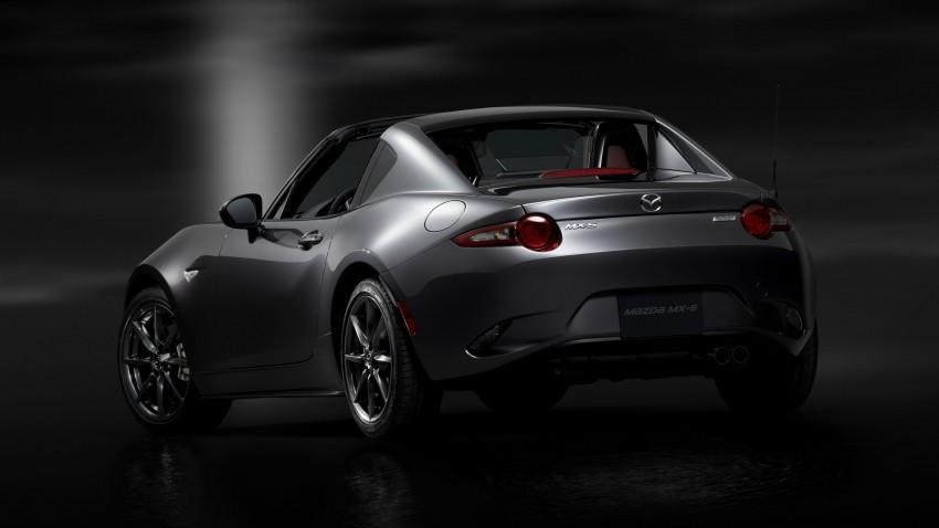 Mazda MX-5 RF revealed for NY – targa-roof fastback Image #464789