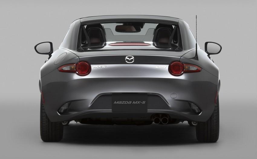 Mazda MX-5 RF revealed for NY – targa-roof fastback Image #464798