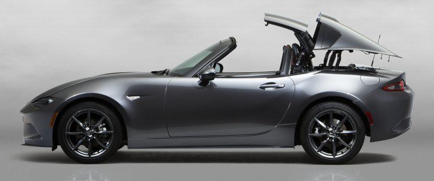 Mazda MX-5 RF revealed for NY – targa-roof fastback Image #464799