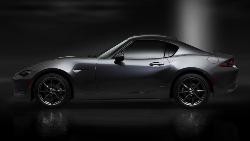 Mazda MX-5 RF revealed for NY – targa-roof fastback Image #464800