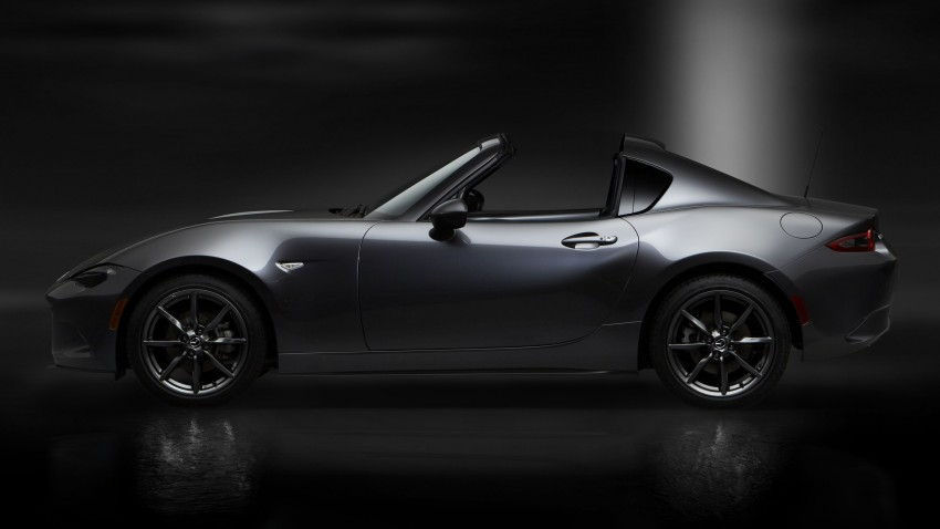 Mazda MX-5 RF revealed for NY – targa-roof fastback Image #464801