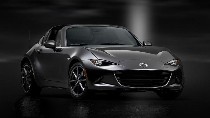 Mazda MX-5 RF revealed for NY – targa-roof fastback Image #464802