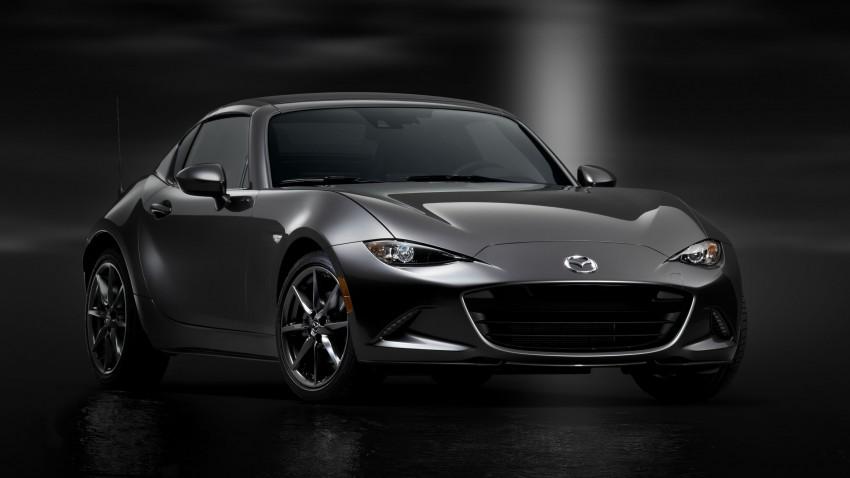 Mazda MX-5 RF revealed for NY – targa-roof fastback Image #464804