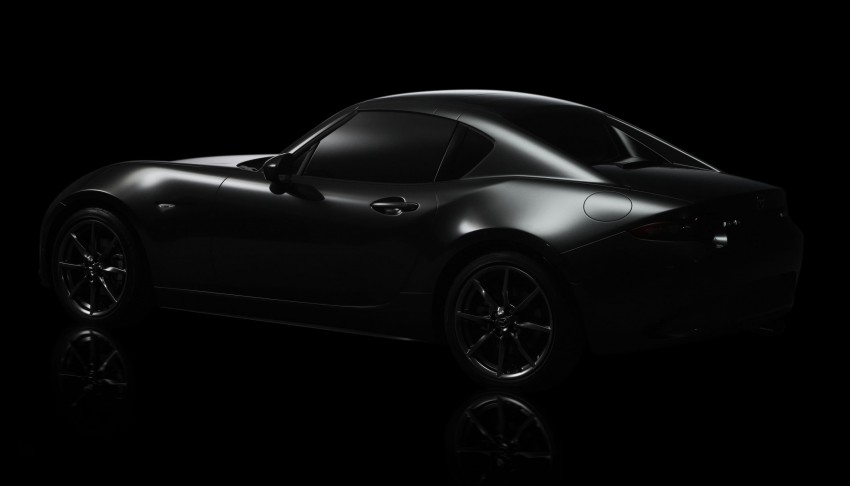 Mazda MX-5 RF revealed for NY – targa-roof fastback Image #464805