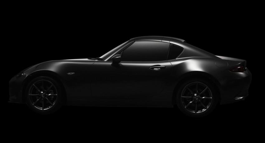 Mazda MX-5 RF revealed for NY – targa-roof fastback Image #464806