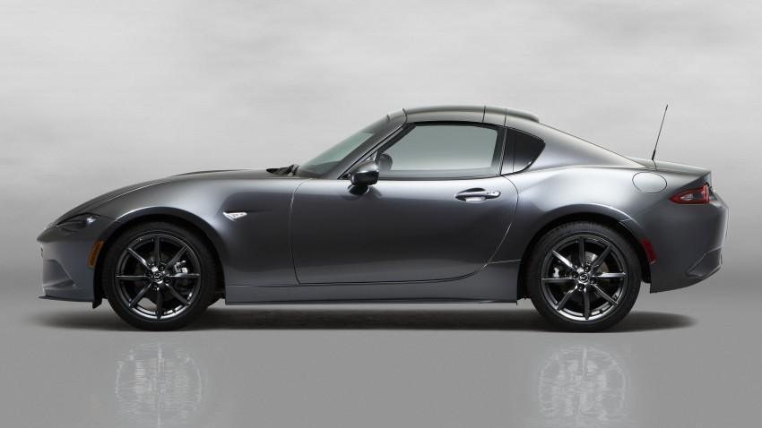 Mazda MX-5 RF revealed for NY – targa-roof fastback Image #464790