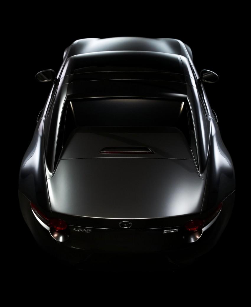 Mazda MX-5 RF revealed for NY – targa-roof fastback Image #464808
