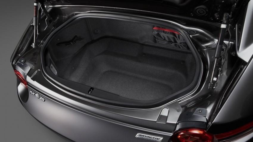 Mazda MX-5 RF revealed for NY – targa-roof fastback Image #464810