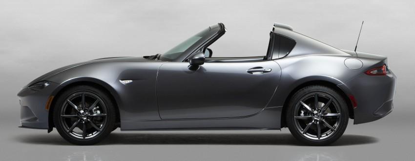 Mazda MX-5 RF revealed for NY – targa-roof fastback Image #464791