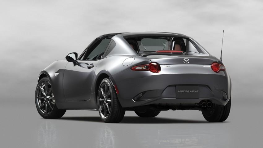 Mazda MX-5 RF revealed for NY – targa-roof fastback Image #464793