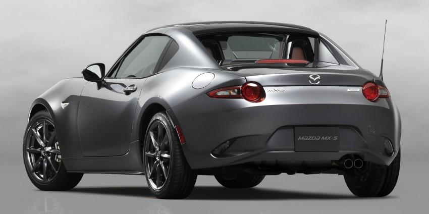 Mazda MX-5 RF revealed for NY – targa-roof fastback Image #464794