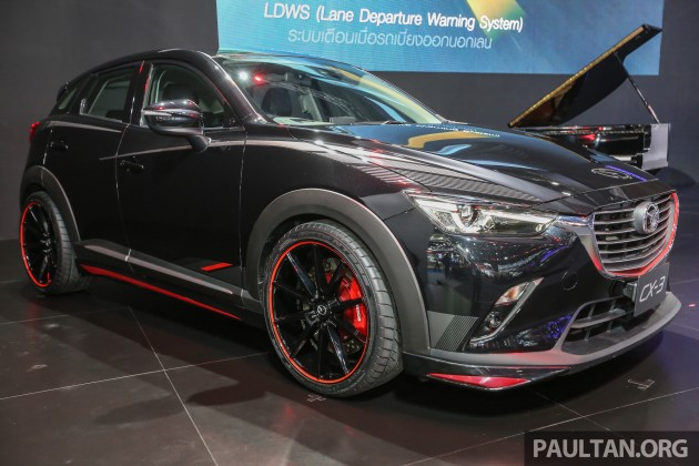 Gallery Mazda Cx 3 Racing Concept At Bangkok